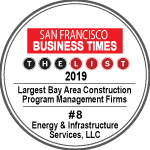 Paxon Energy & Infrastructure Ranks #8 Largest Bay Area Construction Program Management Firms