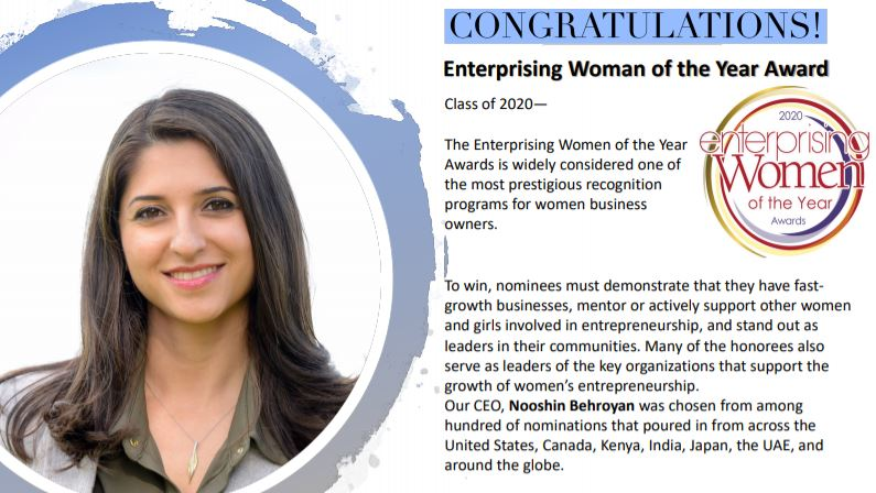 2020 Enterprising Women of the Year Award Winners